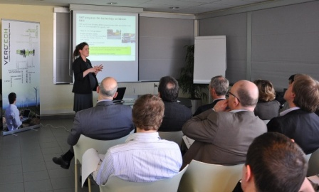 VeroTech consultant Liesbeth presenting on the seminar